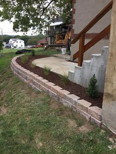 Retaining Wall Home Depot rockwall 12 in. x 8 in. x 4 in. yukon concrete retaining wall