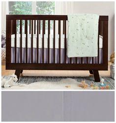 Babyletto Nursery Crib Bedding Set Fitted Crib Sheet C. Nursery Bedding Sets, Baby Nursery Bedding, Grey Crib, Crib Skirts, Convertible Crib, Crib Mattress, Luxury Bedding, Cribs, Woods