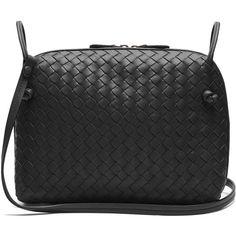 02a93aea79 Bottega Veneta Nodini small intrecciato leather cross-body bag (90.065 RUB)  ❤ liked
