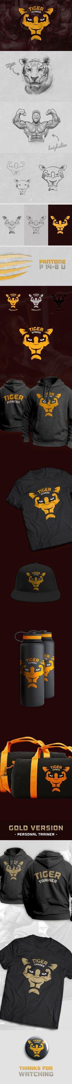 Tiger Fitness Center — Designspiration
