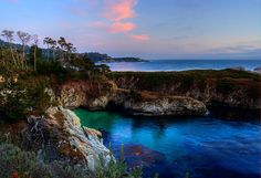 china cove, point lobos state reserve, california