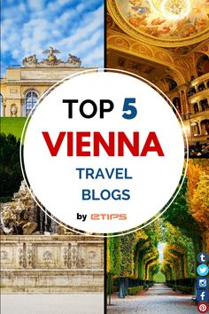 Enjoy Vienna Top 5 Travel Blogs! Wien, Austria. Discover everything from Vienna with this useful Travel Guide: https://itunes.apple.com/app/apple-store/id363360206?pt=272227&ct=faceb00k&mt=8