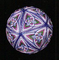 C10 temari, love it but I bet it's a bit fiddly