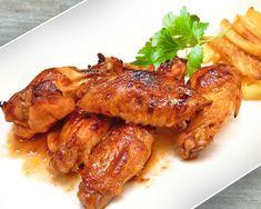Alitas de pollo barbacoa - americanas