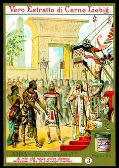 "https://flic.kr/p/8rzLGk | Liebig Tradecard S315 - Aida #3 | Liebig's Meat Extract ""Aida"" an opera by Verdi. Italian issue, 1891."