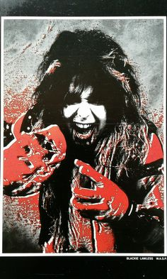 Master Hellion Blackie Lawless of W.A.S.P. #BlackieLawless  #wasp  #WaspArt
