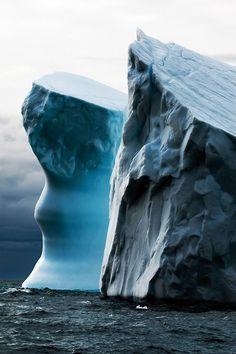 Iceberg Drifting, Greenland ~ Photography by Moreno Bartoletti