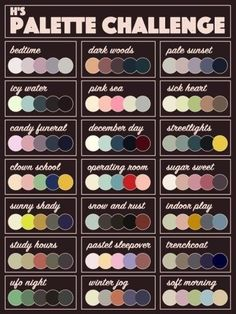 Best 12 Put a Character + a Color Palette in My Ask Box and I'll Draw It!Now that I've finished off the old challenge, it's time for Palette Challenge Electric Boogaloo. Now with almost twice the palette selection! Same as last time, send me fun…