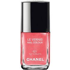 LE VERNIS Nail Colour (1.540 RUB) ❤ liked on Polyvore featuring beauty products, nail care, nail polish, chanel nail color, formaldehyde free nail polish, chanel nail lacquer, chanel nail colour and chanel