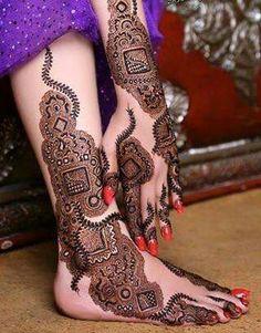 Kashees Beautiful Uroosa Bridal Mehndi.
