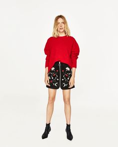 Image 1 of MAXI SWEATER WITH BOW AT THE BACK from Zara