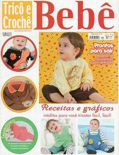 Revista Tricô Crochê Bebê - Receita Tricô Fácil