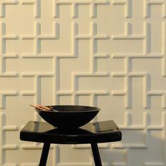 Pannelli tridimensionali wallart tetris dal design moderno ed accattivante confezione da mq.3.