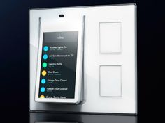 The Wink Relay is a wall-mounted controller that runs Wink App letting you manage lights, locks and appliances, all from a central location in your home.
