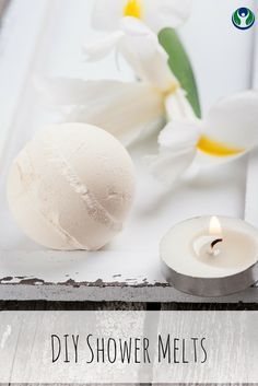 Step up your shower with these amazingly easy DIY Aromatherapy Shower Melts!