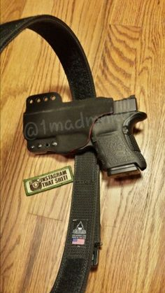 EDC Orca arms ADED belt, Incog IWB holster, G30S