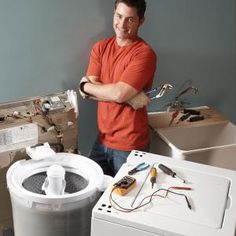 DIY Washer Repair: Fix 90 percent of clothes washer breakdowns with these four easy fixes—including filling and draining problems, grinding noises and a failure to spin. Home Fix, Diy Home Repair, Appliance Repair, Home Repairs, Diy Cleaning Products, Diy Home Improvement, Home Hacks, Home Projects, Washing Machine