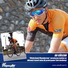 """Ali GÜLCAN Belçika'da """"Wielerbond Vlaanderenn"""" yarışlarına katılan ve ülkemizi temsil eden ilk profesyonel Türk bisikletçi. #xenofittürkiye #aligülcan #bike #WielerbondVlaanderenn"""
