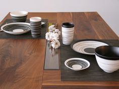 伝統の美濃焼をモダンテイストにリアレンジ MEISTER 和食器 STRINGS | アーバンインテリア - グッとくる家具・雑貨・家電セレクション