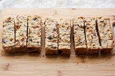 Oatmeal-Chocolate Chip Breakfast Bars - More like a healthier sweet snack with less sugar.  I'm subbing almond butter for the peanut butter.