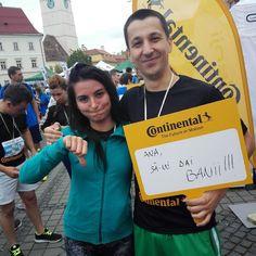 Maratonul Sibiului a fost superb! Multumesc pentru sustinere! @anaspatariu banii mei mie!