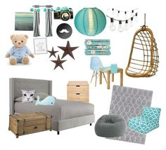 """""""david room"""" by nurit-iii on Polyvore featuring interior, interiors, interior design, home, home decor, interior decorating, Surya, Comfort Research, Dot & Bo and Serena & Lily"""