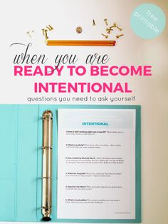 If you are ready to become intentional, there are few questions you need to ask yourself to find clarity and the source of your problems of today.