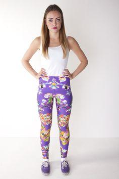 Leggings - www.rakelblom.com #rakelblom #fashion #print #iceland #london #women #style #leggings
