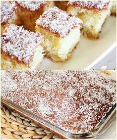 Greek Sweets, Greek Desserts, Greek Recipes, Kitchen Recipes, Cooking Recipes, Sweets Cake, Mediterranean Recipes, Vanilla Cake, Chocolate Cake