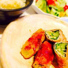 昨日の晩御飯は豚のオクラ巻きとアサリの酒蒸し&サラダ豆のサラダでした(o^^o) - 10件のもぐもぐ - 豚のオクラ巻き by rukamama0701