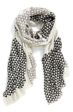 Vince Camuto 'Lightbox Piece Good' Scarf available at #Nordstrom