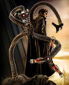 Alfred Molina as Dr. Otto Octavius / Doctor Octopus (Spider-Man 2)