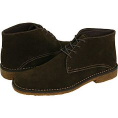 love this - johnston & murphy runnell chukka boot in chocolate suede