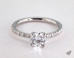 Check out my James Allen engagement ring!
