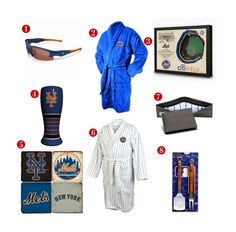 8 Great Father's Day Gift ideas for the avid New York Mets Fan! See all of our Mets gifts at http://www.topnotchgiftshop.com/new-york-mets.html