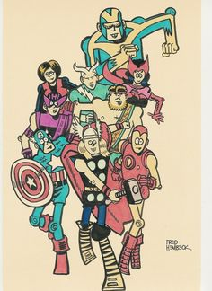 The Avengers by Fred Hembeck