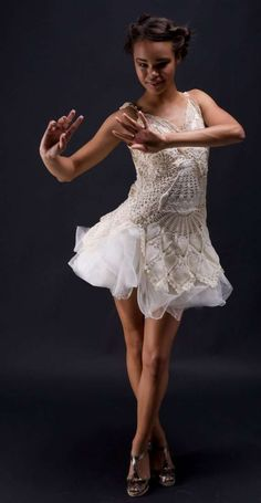 exquisite doily dress by ArmoursansAnguish.