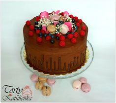 torta s makrónkami