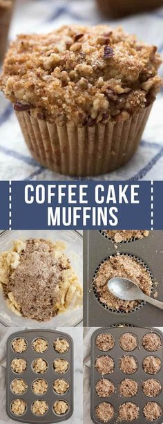 Baking Recipes, Cookie Recipes, Dessert Recipes, Recipes Dinner, Easy Gluten Free Desserts, Delicious Desserts, Pavlova, Sauce Creme, Coffee Cake Muffins