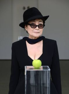 Yoko Ono at the opening of her Serpentine exhibition - The Independent