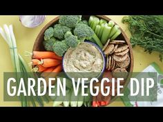 A creamy dairy free veggie infused, Garden Vegetable Dip to serve at your New Years party this year! There's nothing like a good chip or garden vegetable dip when you're at a party or just hanging with friends for a night in. This is an easy veggie dip loaded with vegetables, herbs and blended with…
