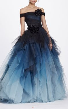 Marchesa Off The Shoulder Ball Gown $12,995