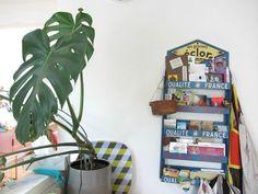 un vieux présentoir à graines Magazine Rack, Storage, Furniture, Home Decor, Seeds, House, Purse Storage, Decoration Home, Room Decor
