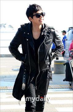 Hyun Bin airport fashion. hehe, nice to be home again :D