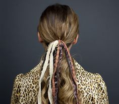 Create a Ponytail Straight from the Chanel Runway with Our GIF Tutorial  #InStyle