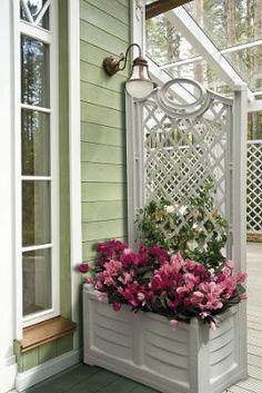 Plastový truhlík s opěrnou mříží Pergo - Květináče a truhlíky