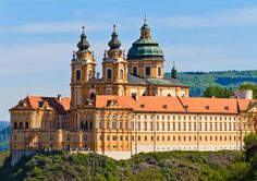 Melk Abbey, Vienna, Austria (home of Adso, in The Name Of The Rose)