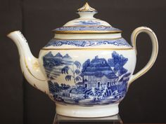 English Teapot Collection (Available for Individual Sale) | From a unique collection of antique and modern tea sets at https://www.1stdibs.com/furniture/dining-entertaining/tea-sets/
