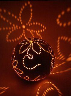 Large sphere candle holder | Flickr - Photo Sharing!