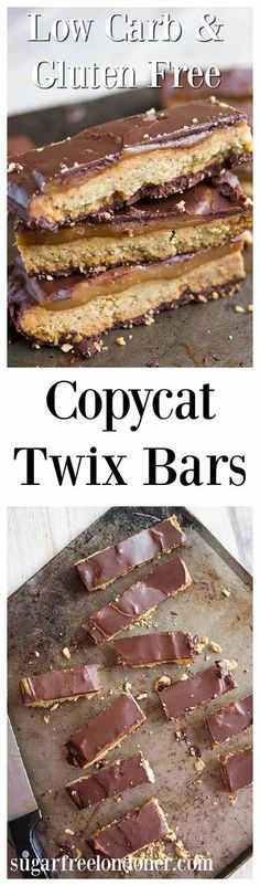 A healthy version of an all time favourite candy: low carb gluten free twix bars! Enjoy a decadent treat without the sugar rush.